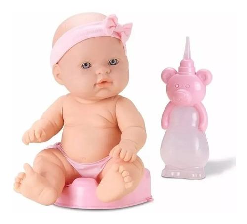 Baby Ball Muñeca Bebe Toma Mamadera Y Hace Pipi