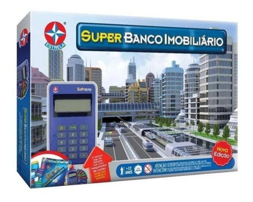 Imagem 1 de 1 de Jogo Super Banco Imobiliario