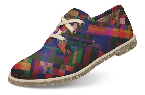 Sapato Usthemp Legend Vegano Casual Art Multicolor