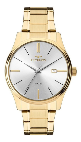 Relógio Technos Dourado Feminino Steel 2115mpn/4k
