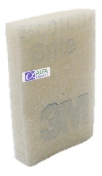 Fibra 3m Scotch Brite P-66 Antibacterial P/ Baños Y Azulejos