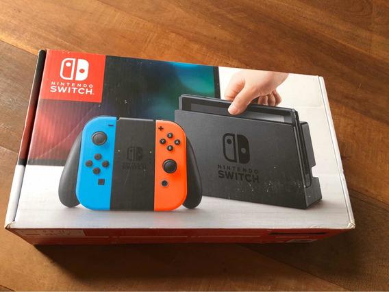 Nintendo Switch 32gb Completo