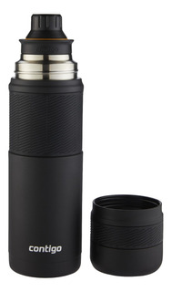 Termo Contigo Black 739ml Acero Inoxidable Mate - Rex