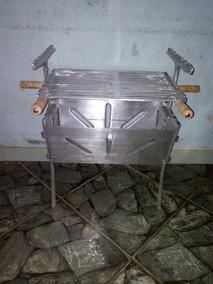 Churrasqueira Em Aluminio Fundido