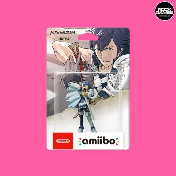Amiibo Chrom - Fire Emblem - Novo Lacrado Original Nintendo