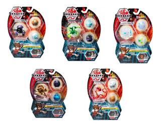 Bakugan Pack 3 Variedad Nuevos Con 3 Bakuganes En 1 Pack