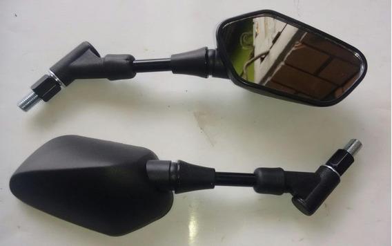 Espelho Retrovisor Cb 300r Mini Retratil Par Rosca Normal