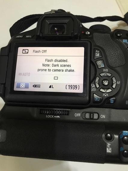 Canon Eos Rebel T3i - Pouco Usada - Frete Grátis