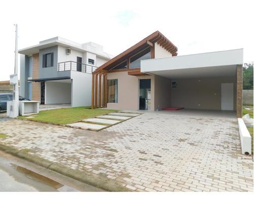 Casa Nova À Venda Em Condomínio Fechado De Peruíbe - Litoral