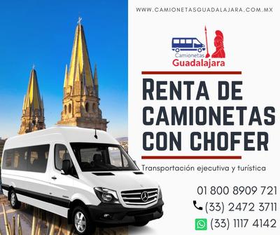 Renta De Camionetas En Guadalajara Renta De Vans Con Chofer