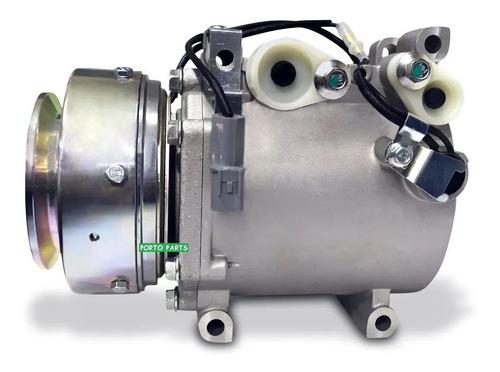 Imagem 1 de 6 de Compressor Do Ar Cond Pajero Modelo Sport 4wd Se +filtro Sec