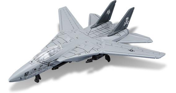 Avion F14 Tomcat Coleccion Metalico Escala Diecast