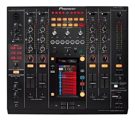 Mixer Pioneer Djm 2000 Nexus Nota Fiscal Pronta Entrega