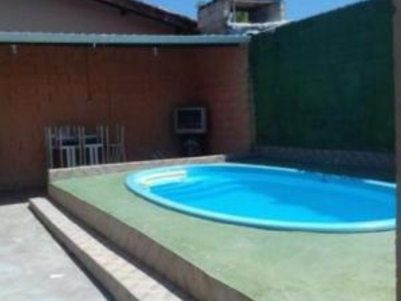 Casa Com Piscina No Litoral - Itanhaém/sp - Barata 6730ps