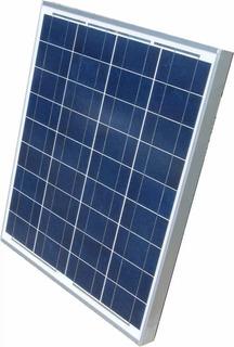 Painel Placa Solar 12v 30w Para Carregar Bateria