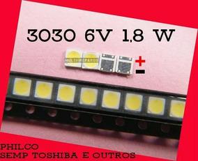 Kit De 150 Unidades De Led Smd 6v 1,8w 3030 Cr 10,00$