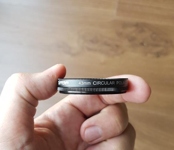 Filtro 43mm Polarizador Circular Tiffen Original