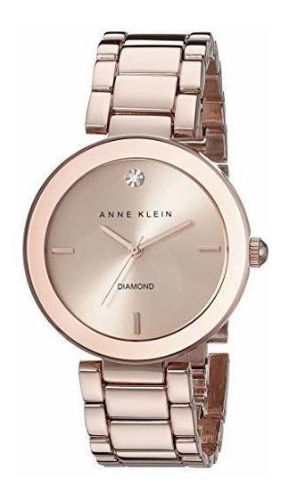 Reloj Anne Klein Mujer Genuine Diamond Dial Bracelet