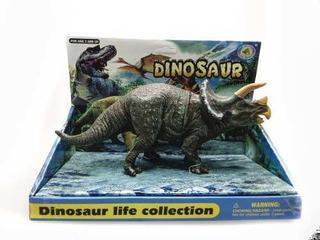 Dinosaurio Coleccionable Triceratops 30 Cm Original Nenes