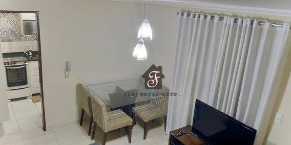 Apartamento Com 2 Dormitórios À Venda, 42 M² Por R$ 170.000,00 - Vila Pompéia - Campinas/sp - Ap0905
