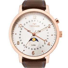 Relógio Technos Masculino Calendário Lunar Original