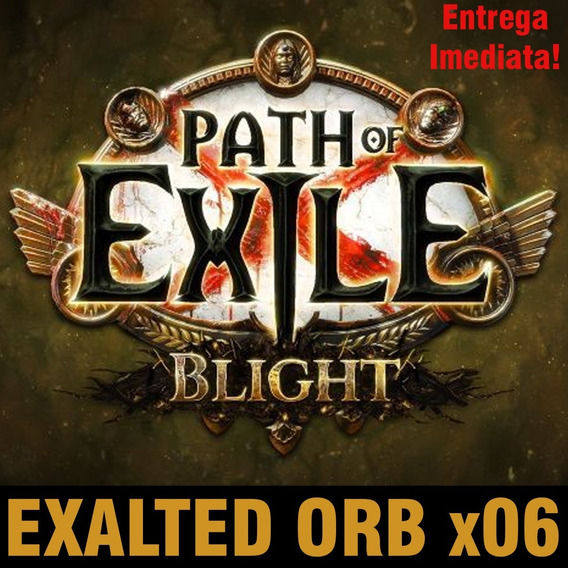 6x Exalted Orb - Pc Blight Softcore