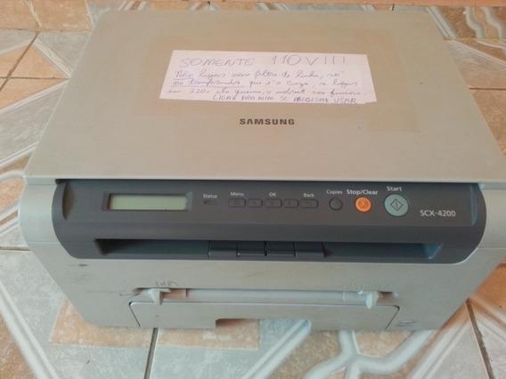 Impressora Samsung Scx 4200 Multifuncional Scanner Laser