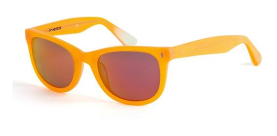 Anteojos Sol Lentes Infinit Il Barbiere Wayfarer Orange
