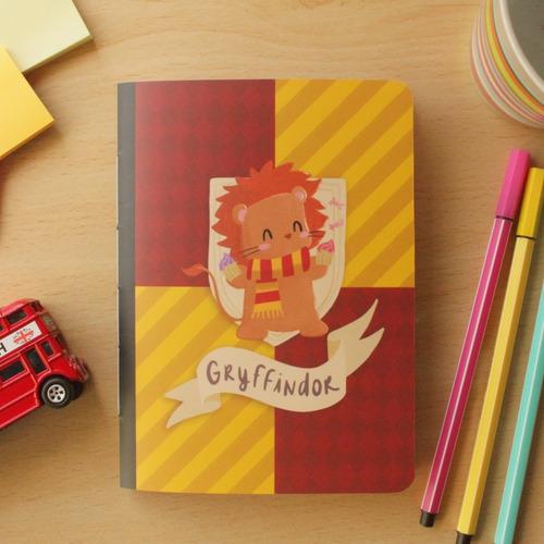Imagem 1 de 3 de Caderninho Hp - Gryffindor