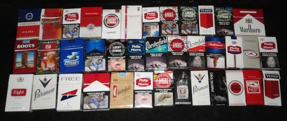 38 Cajitas De Cigarrillos Box ( Lote )