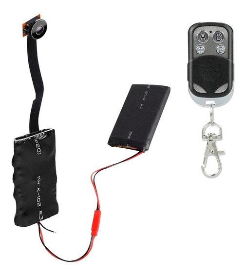 Camara Espia 1080p Microfono Oculto Mini Camara Control
