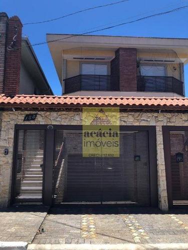 Sobrado Com 3 Dormitórios À Venda, 260 M² Por R$ 940.000,00 - Parque São Domingos - São Paulo/sp - So2992