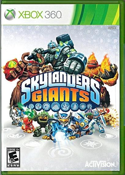 Skylanders Giants Com Portal E 3 Bonecos Xbox 360 - Usado