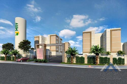 Apartamento À Venda, 45 M² Por R$ 159.900,00 - Coliseu - Londrina/pr - Ap0685