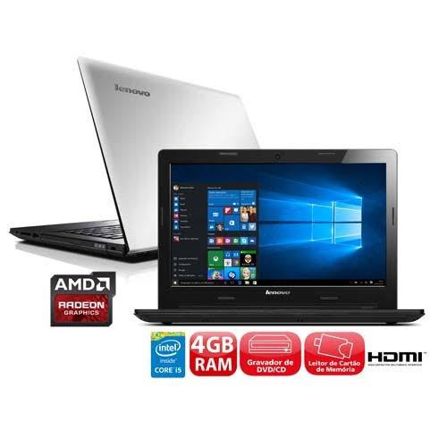 Notebook Lenovo G40-80 Core I5 - 16gb Ram 480gb Ssd