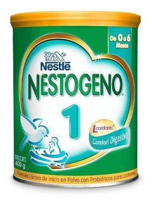 Formula Infantil Nestogeno 1 L X400 Gr