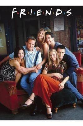 Poster Importado De La Serie Televisiva Friends - 90 X 60 Cm