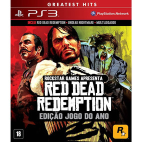 Red Dead Redemption Game Of The Year Ps3 Mídia Física Lacrad