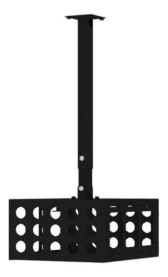 Suporte De Teto Multivisão Multi-p-gaiola-pr Suporta Até 8kg