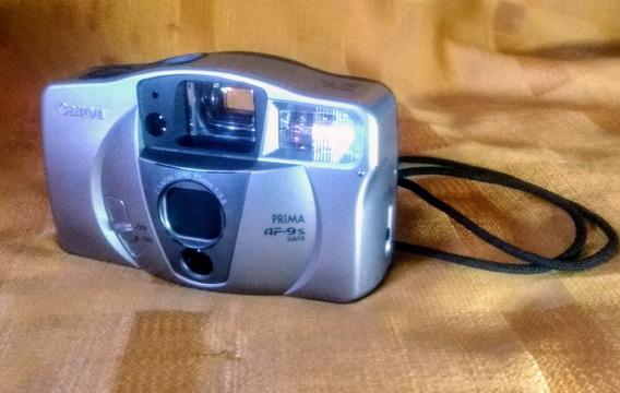 Câmera Canon Prima Af-9s - Automática - Filme _ Funcionando