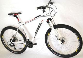 Bicicleta Aro 26 Mosso, Kit Shimano, 27 Marchas