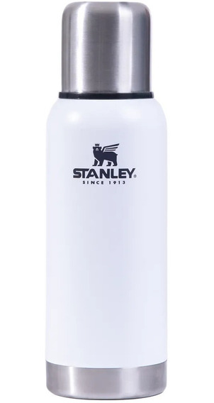 Termo Stanley Bala 1lts Pico Cebador Original New Blanco
