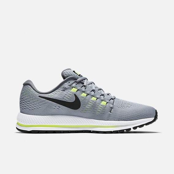 Tênis Nike Air Zoom Vomero 12 De Corrida Cinza 44 Original