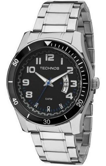 Relógio Masculino Technos Analógico 2115ksl/1p Aço
