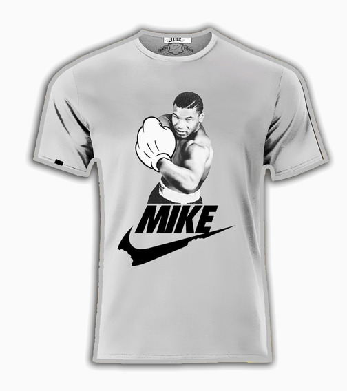 Playera Nike Estilo Myke Tyson Mickey Mouse Box Boxeo Unsx