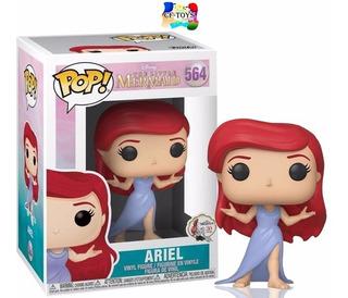 Ariel La Sirenita Vestido Funko Pop Pelicula Disney Cf
