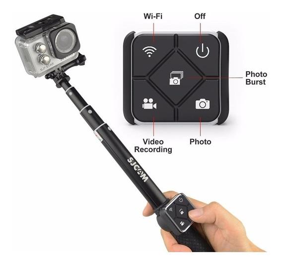 Bastao Stick Sjcam + Controle Remoto Original M20 Sj6 Sj7