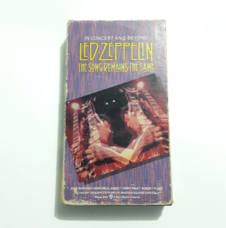 Led Zeppelin - The Song Remains The Same Vhs
