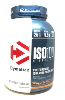 Iso.100 Whey Protein Hydrolized & Isolate X 3 Lb Dymatize