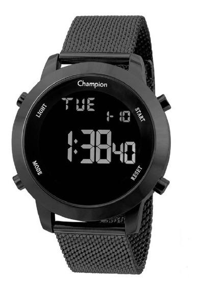 Relógio Champion Feminino Digital Ch40062d Preto Lançamento